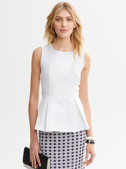 banana republic peplum