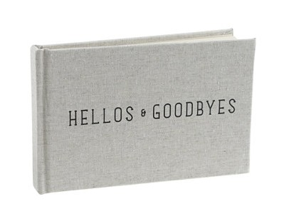 Hellos Goodbyes Guestbook