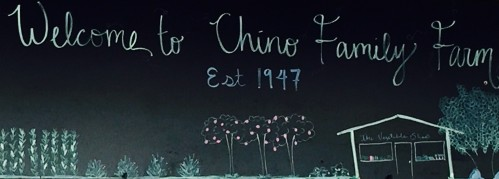 Chino Farms Sign